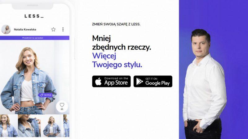 Minimalizm w szafie po polsku – poznaj aplikację Less
